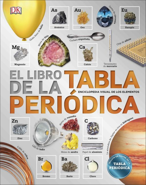 Hardback cover of El Libro de la Tabla Periódica