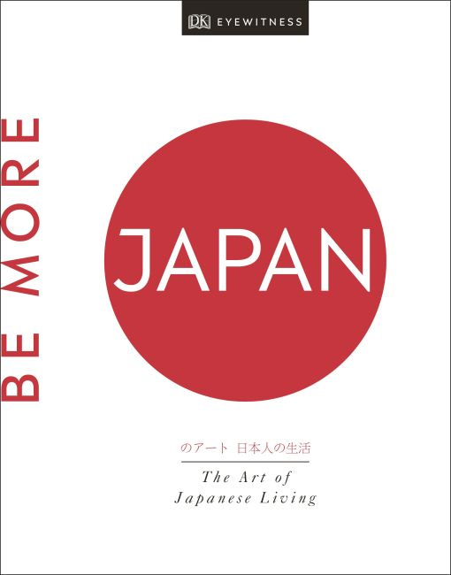 Hardback cover of Be More Japan