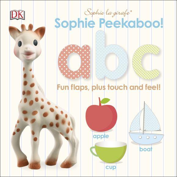 Board book cover of Sophie la girafe: Peekaboo ABC