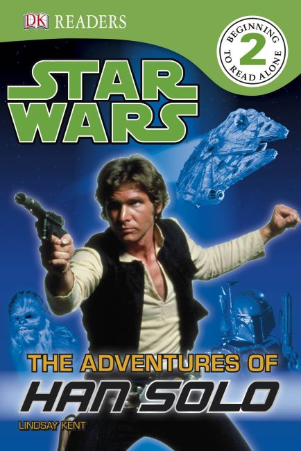 Paperback cover of DK Readers L2: Star Wars: The Adventures of Han Solo