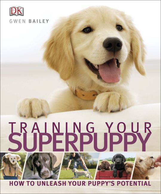 eBook cover of Training Your Superpuppy