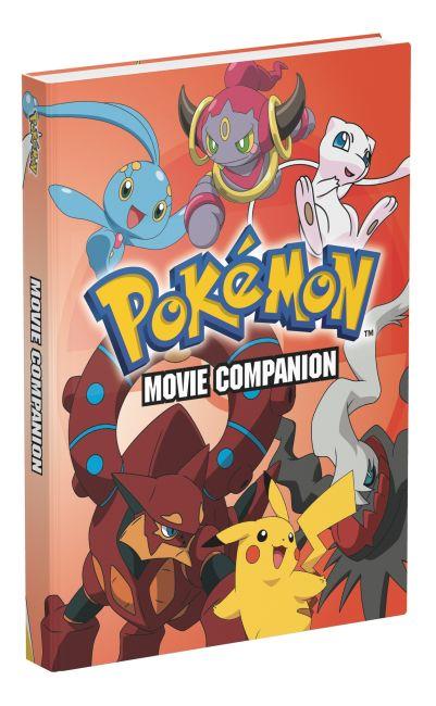 Hardback cover of Pokémon Movie Companion