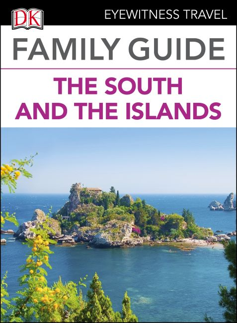 eBook cover of Family Guide Italy the South and the Islands