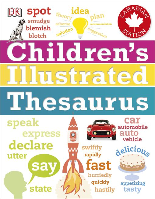Paperback cover of Children's Illustrated Thesaurus