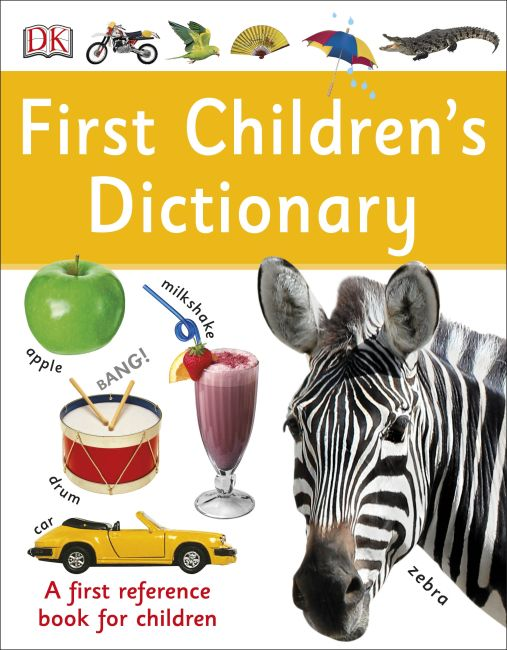 Paperback cover of First Children's Dictionary