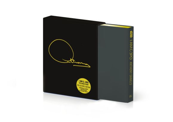 Hardback cover of I Am C-3PO - The Inside Story (Signed Collector's Edition)