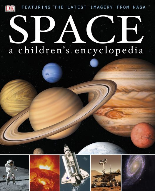 Hardback cover of Space A Children's Encyclopedia