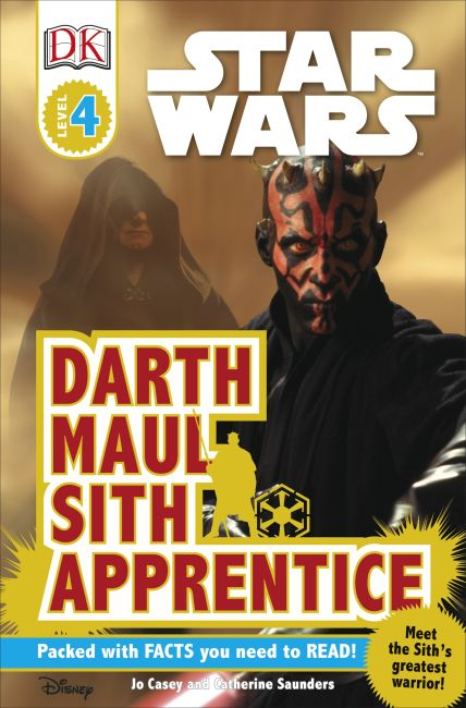 Paperback cover of DK Readers L4: Star Wars: Darth Maul, Sith Apprentice