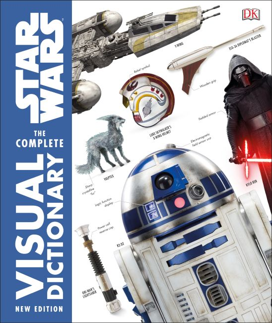 Hardback cover of Star Wars The Complete Visual Dictionary New Edition