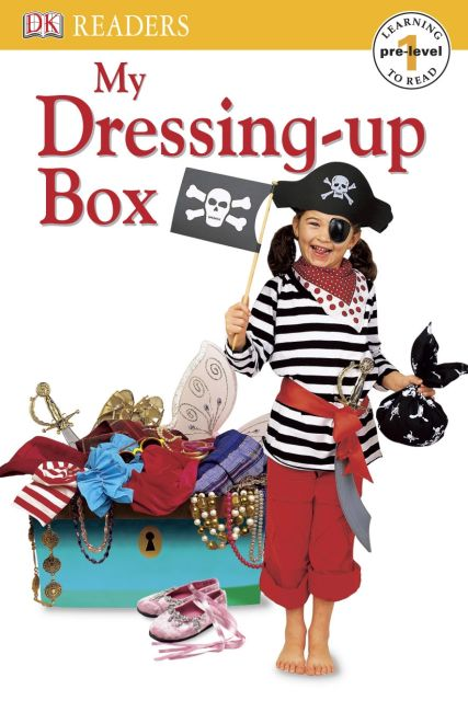 eBook cover of DK Reader Pre-level 1: My Dressing-up Box