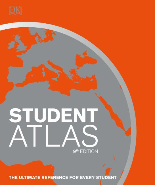 Hardback cover of Student World Atlas
