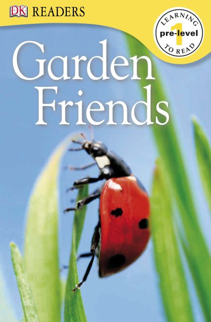 Paperback cover of DK Readers L0: Garden Friends