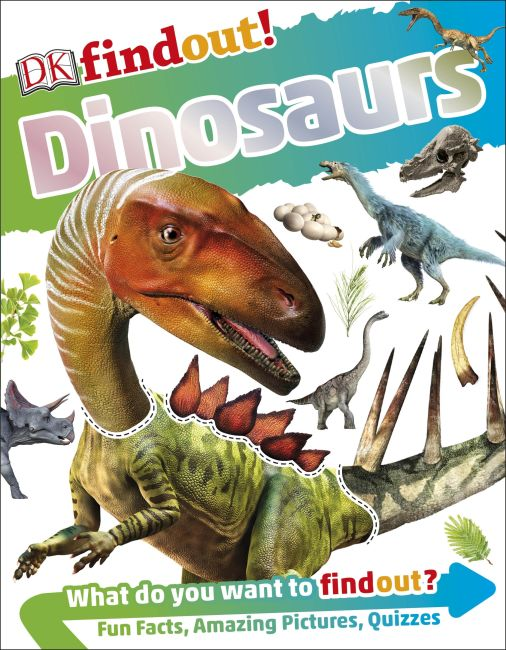Flexibound cover of DKfindout! Dinosaurs