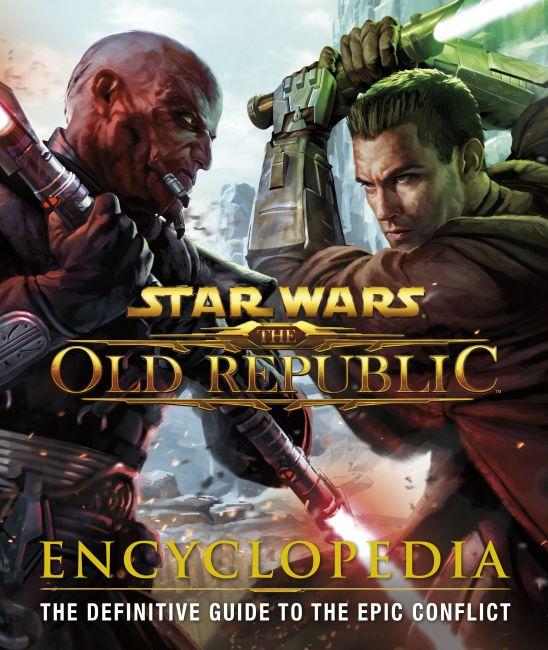 Hardback cover of Star Wars: The Old Republic: Encyclopedia