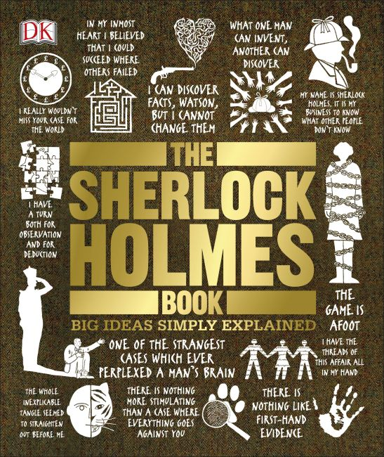 Hardback cover of The Sherlock Holmes Book