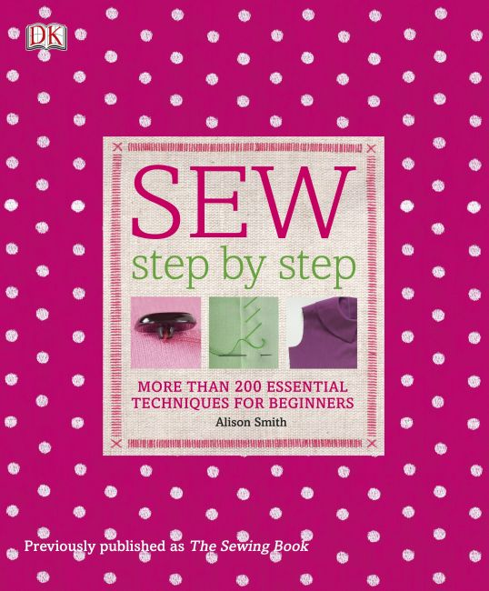 Paperback cover of Sew Step by Step