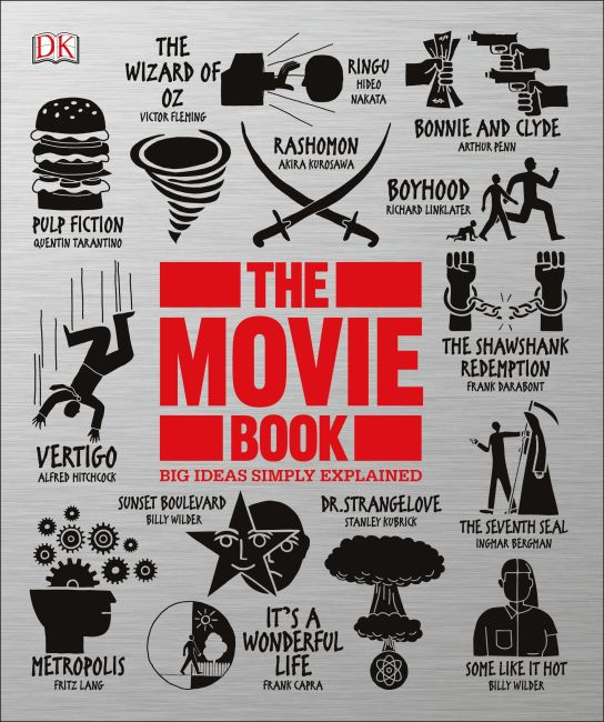 Paperback cover of The Movie Book