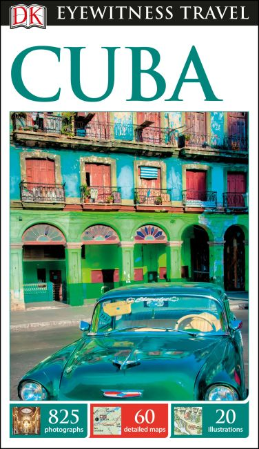 Flexibound cover of DK Eyewitness Travel Guide Cuba