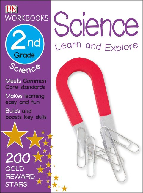 Paperback cover of DK Workbooks: Science, Second Grade