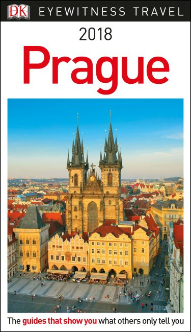 Paperback cover of DK Eyewitness Travel Guide Prague