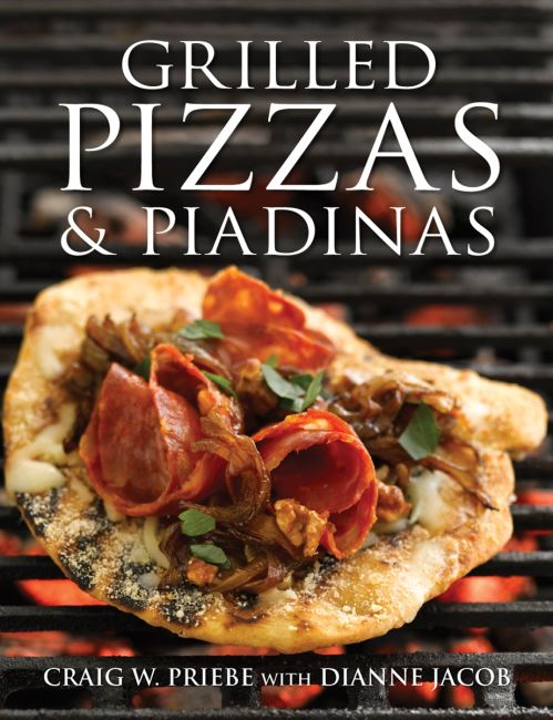 Hardback cover of Grilled Pizzas and Piadinas