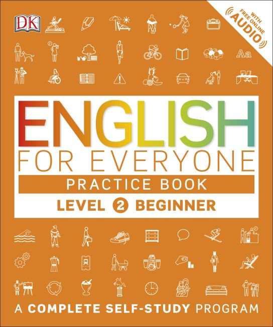 Paperback cover of English for Everyone: Level 2: Beginner, Practice Book