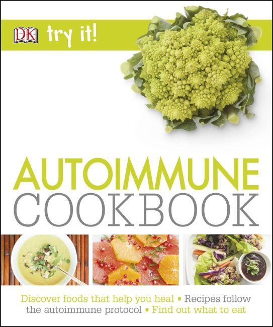 Paperback cover of Autoimmune Cookbook
