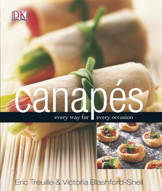 eBook cover of Canapes