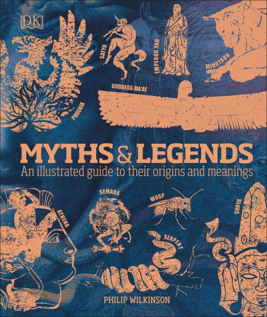 Hardback cover of Myths & Legends