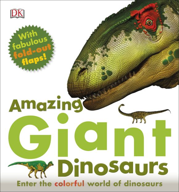 Hardback cover of Amazing Giant Dinosaurs