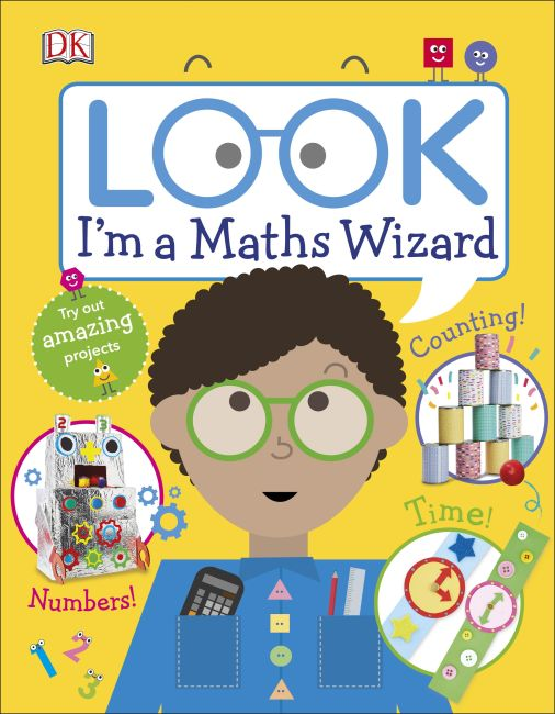 Hardback cover of Look I'm a Maths Wizard