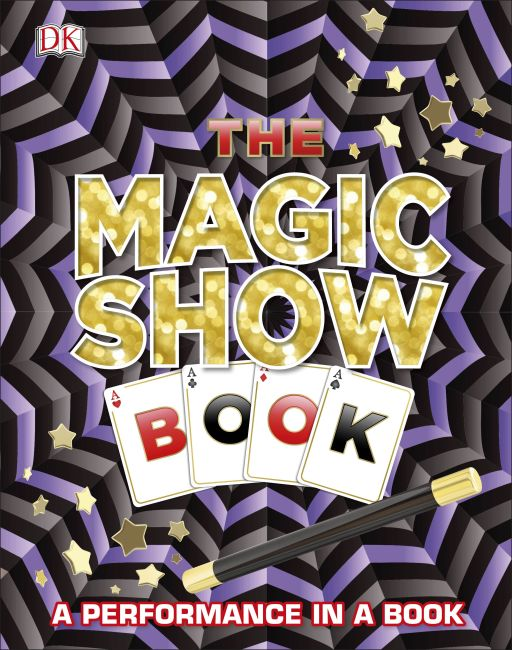 Hardback cover of The Magic Show Book