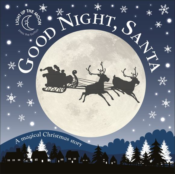 Board book cover of Good Night, Santa