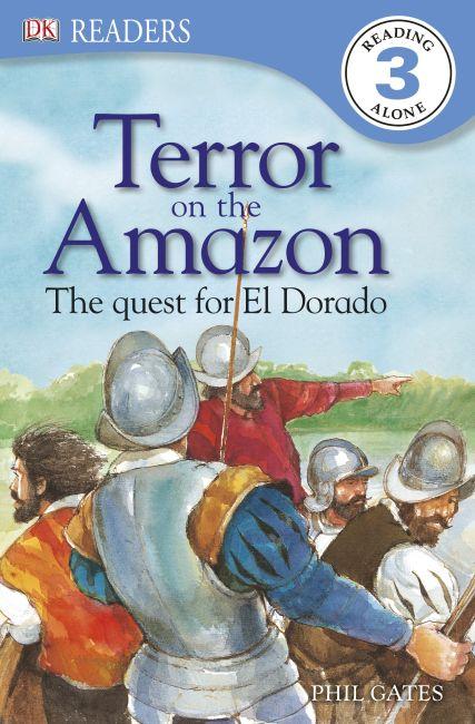 eBook cover of Terror on the Amazon - The Quest for El Dorado