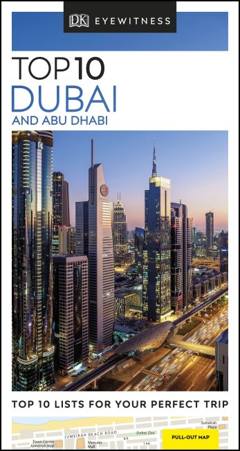 Paperback cover of DK Eyewitness Top 10 Dubai and Abu Dhabi