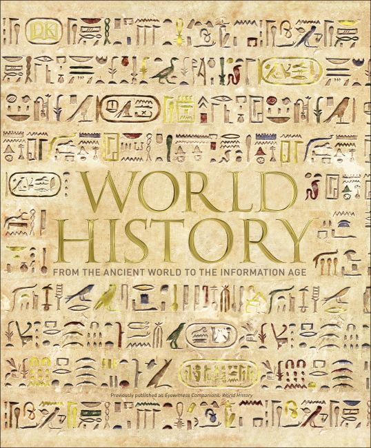 Hardback cover of World History