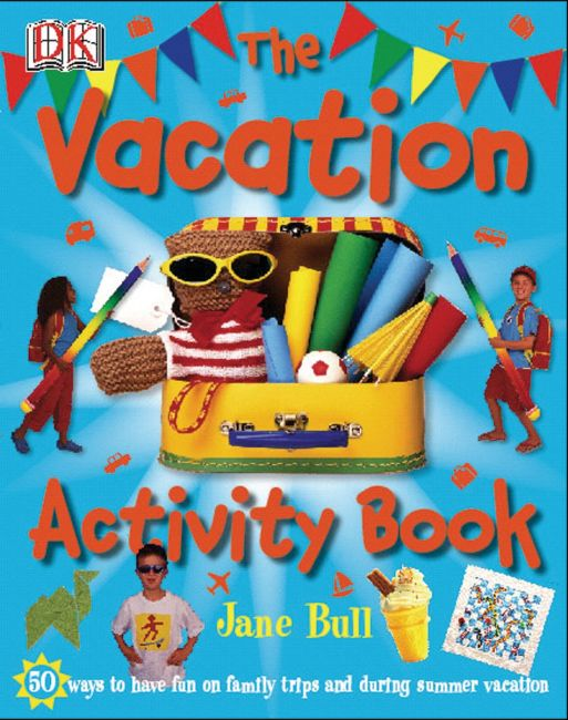 eBook cover of The Vacation Activity Book