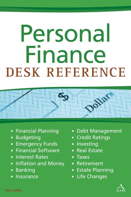 eBook cover of Personal Finance Desk Reference