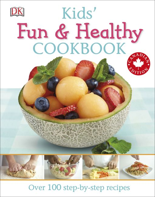 Paperback cover of Kids' Fun and Healthy Cookbook
