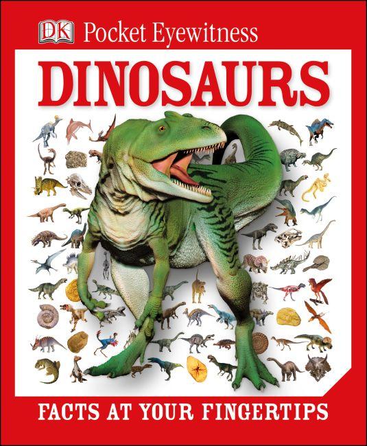 Hardback cover of DK Pocket Eyewitness Dinosaurs