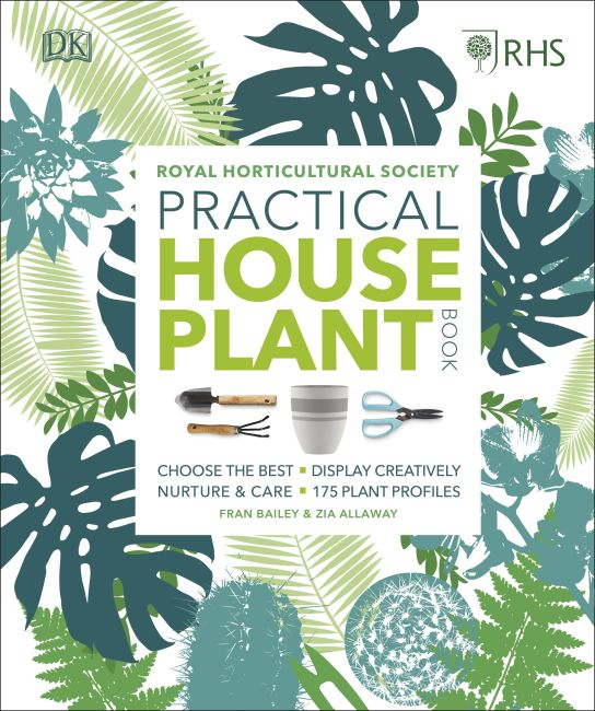 Hardback cover of RHS Practical House Plant Book