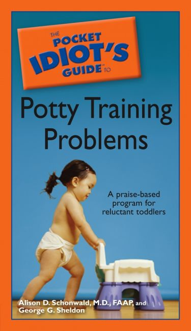 eBook cover of The Pocket Idiot's Guide to Potty Training Problems