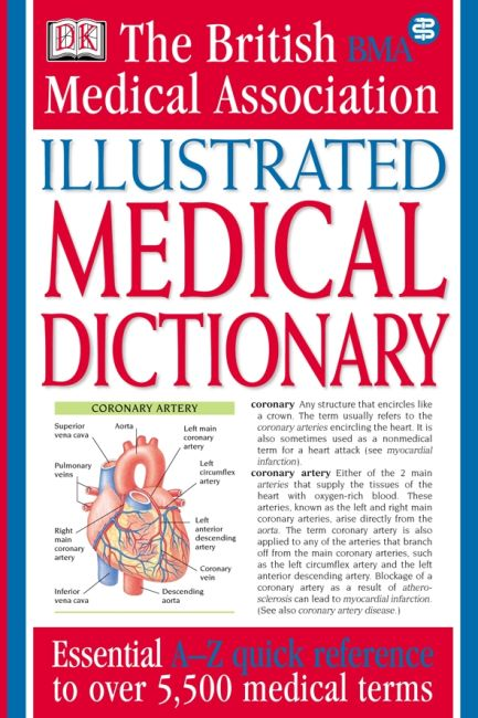 eBook cover of BMA Illustrated Medical Dictionary