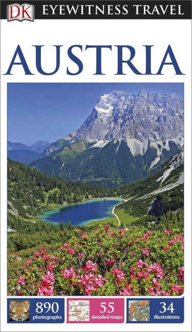 Paperback cover of DK Eyewitness Travel Guide Austria