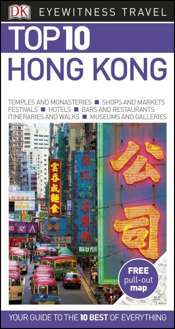 Paperback cover of Top 10 Hong Kong