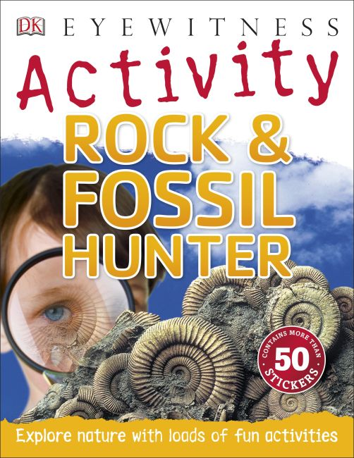 Paperback cover of Rock & Fossil Hunter