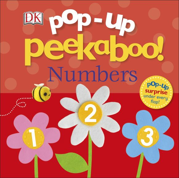 Board book cover of Pop-Up Peekaboo! Numbers