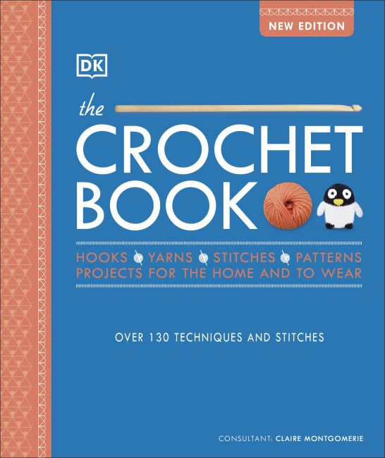 Hardback cover of The Crochet Book