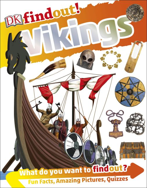 Paperback cover of DKfindout! Vikings