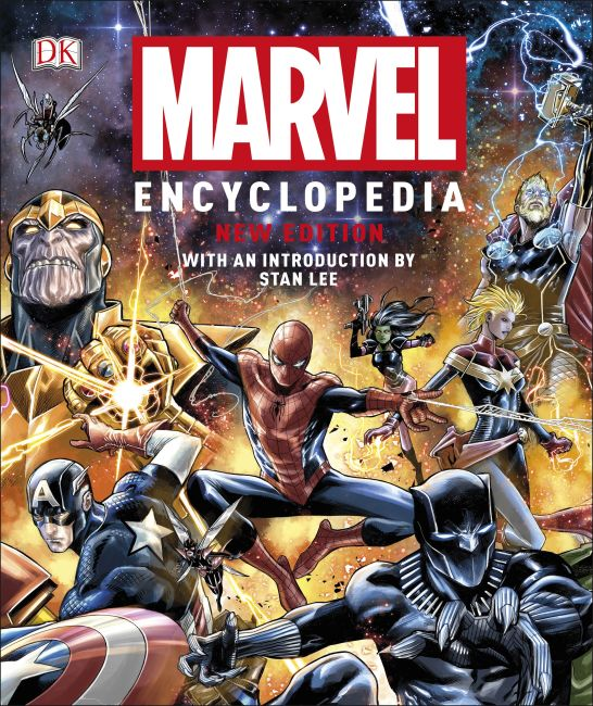 Hardback cover of Marvel Encyclopedia New Edition